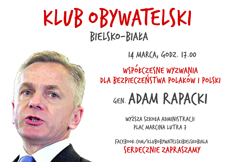 Spotkanie z generałem Adamem Rapackim